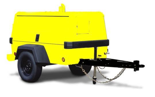 AIR COMPRESSOR Diesel 80 LPS 175 CFM for hire