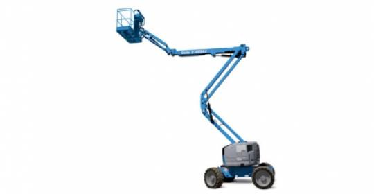 Knuckle Boom Lifts Diesel  Rough Terrain 41.1m 125ft ultra boom for hire