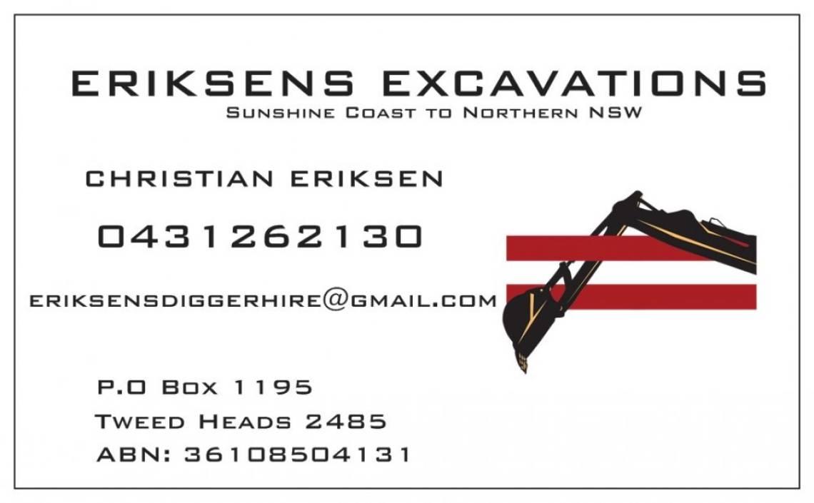 Eriksens Excavations