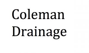 Coleman Drainage