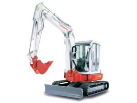 Takeuchi 5 Tonne Excavator for hire
