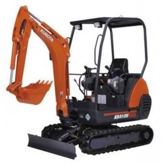 1.5 Tonne Mini Excavator for hire