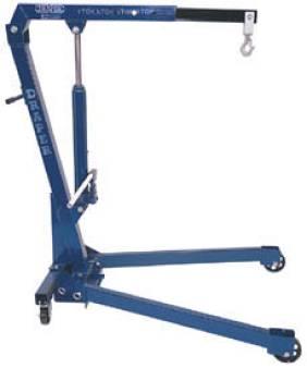 Engine crane for hire