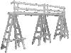 TRESTLE HAND RAIL SYSTEM