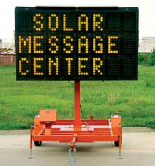 Solar Variable Message Board for hire