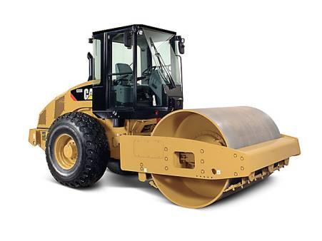 Caterpillar CS56 12 Tonne Smooth Drum Roller for hire