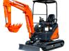 1.8 Tonne Mini Excavators with 2.5 tonne Trailer