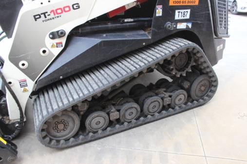 Terex PT100G Forestry - Tracked Skid Steer