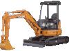 CASE CX35 3.5 Tonne Mini Excavator