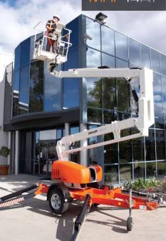 Cherry Picker - Snorkel MHP 13AT for hire