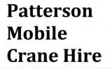 Patterson Mobile Crane Hire