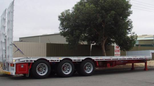 45ft Flat Deck Trailer for hire