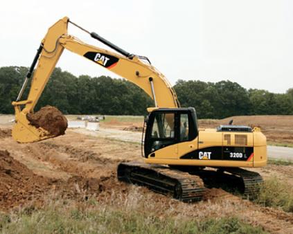 23 - 25 Tonne Excavator for hire
