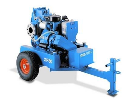 Diesel Self Priming Pump CP150i for hire