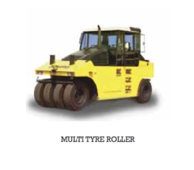 Rollers Multi-Tyred 25 tonne for hire