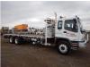 8x4 Flat Deck Truck