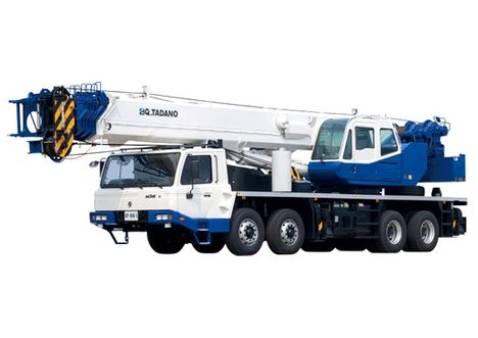 55 Tonne Tadano GT - 550E Truck Crane 2008 for hire