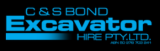 C&S Bond Excavator Hire