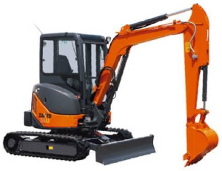 Mini Excavator 3.5 tonne for hire