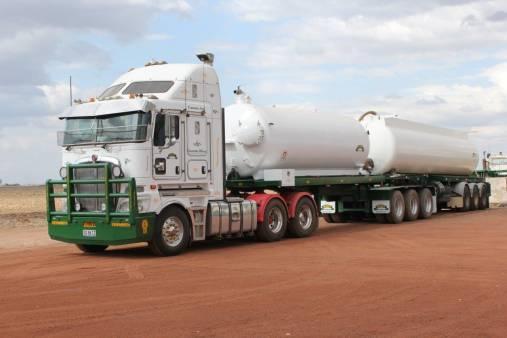 Water Tanker Truck