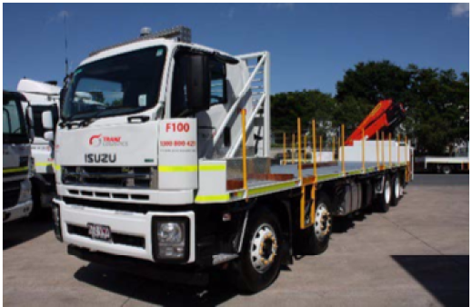 8x4 Hiab for hire