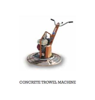 Concrete Equipment walking trowels for hire