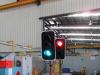 Trailer Mounted Solar Powered Traffic Light