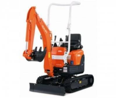 Mini Excavator 0.8 tonne for hire