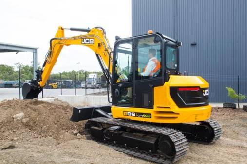 JCB 86C-1 9 Tonne Excavator for hire