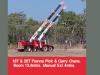 20 TonneFranna Pick & Carry Crane- Boom 13.8M
