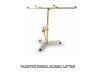 Plaster panel and board lifter