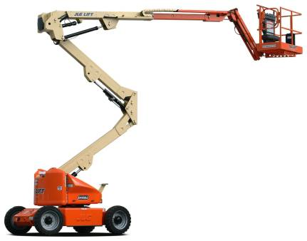 Knuckle Boom Lifts Diesel  Rough Terrain 16.7m 55ft for hire