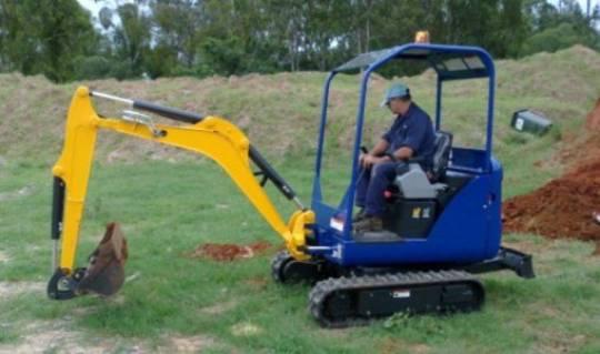 Mini Excavator for hire