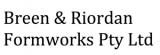 Breen & Riordan Formworks Pty Ltd