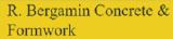 R. Bergamin Concrete & Formwork