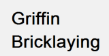 Griffin Bricklaying