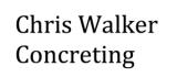 Chris Walker Concreting