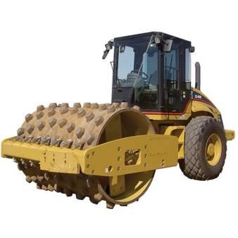 Caterpillar CS56 12 Tonne Padfoot Roller for hire