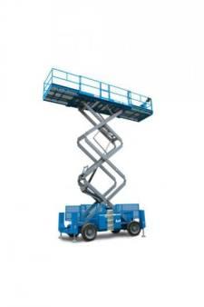 Scissor Lifts Diesel - Rough Terrain 12.1m for hire