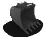 Bucket - GP - 450mm - To Suit 1.6t Excavator