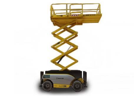 Scissor Lifts Diesel  Rough Terrain 9.1m for hire
