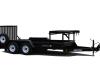 Mini?loader  Transport trailer