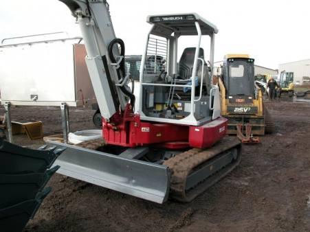 Takeuchi TB135 - Mini Excavator 3.5t