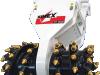 Simex TF1000 20 - 30 Tonne Dual Drum Rotary Cutter