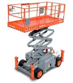 Scissor Lifts Diesel  Rough Terrain 10m for hire