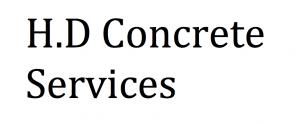 H.D Concrete Services