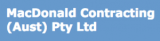 MacDonald Contracting Australia Pty Ltd