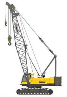 80 Tonne Crawler Crane for hire