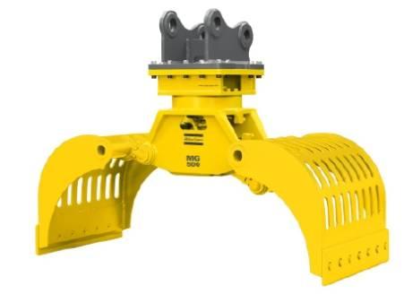 Atlas Copco MG500 6 - 8 Tonne Hydraulic Grapple for hire