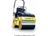 Rollers Vibrating Twin Drums 1.6 Tonne